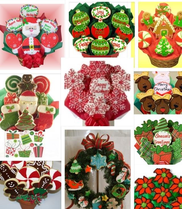 Areglos de galletas navideñas