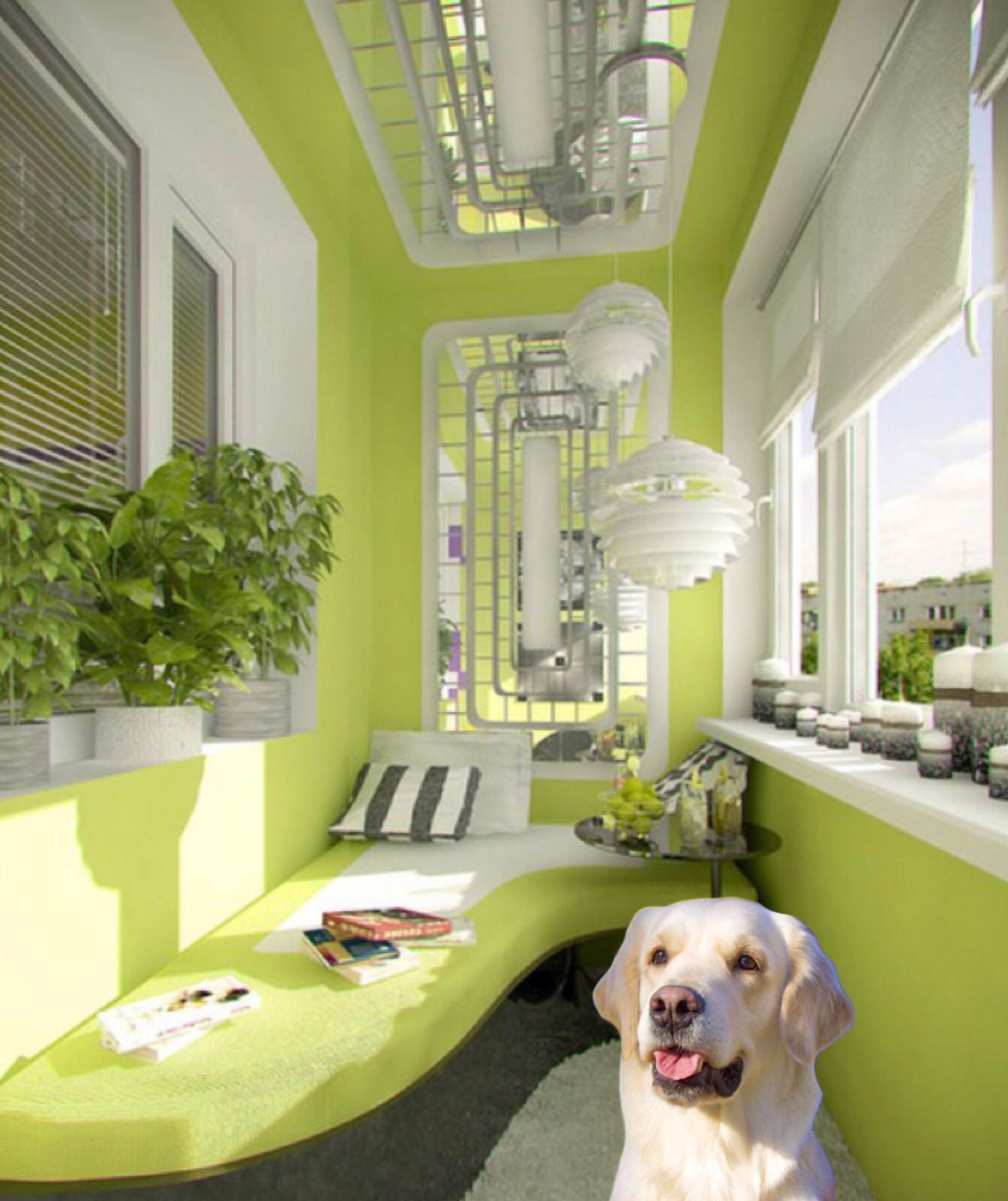 20 крутых идей для вашего балкона.