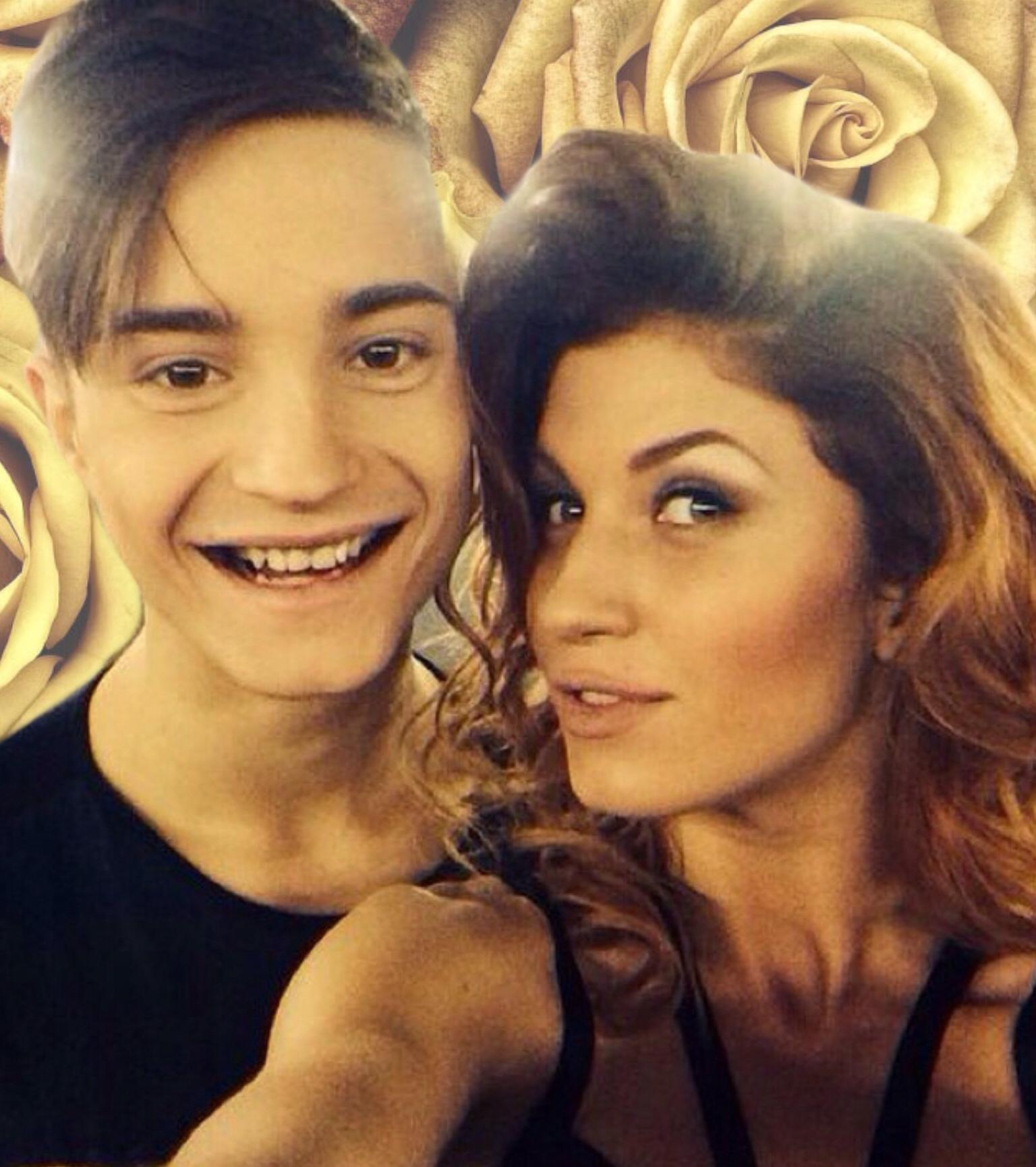 Антон и его девушка фото