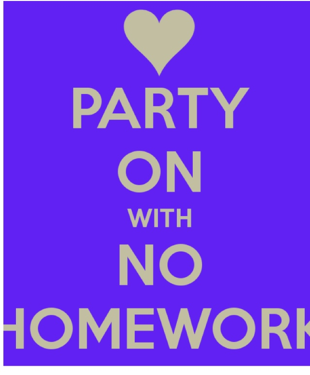 Say No To Homework