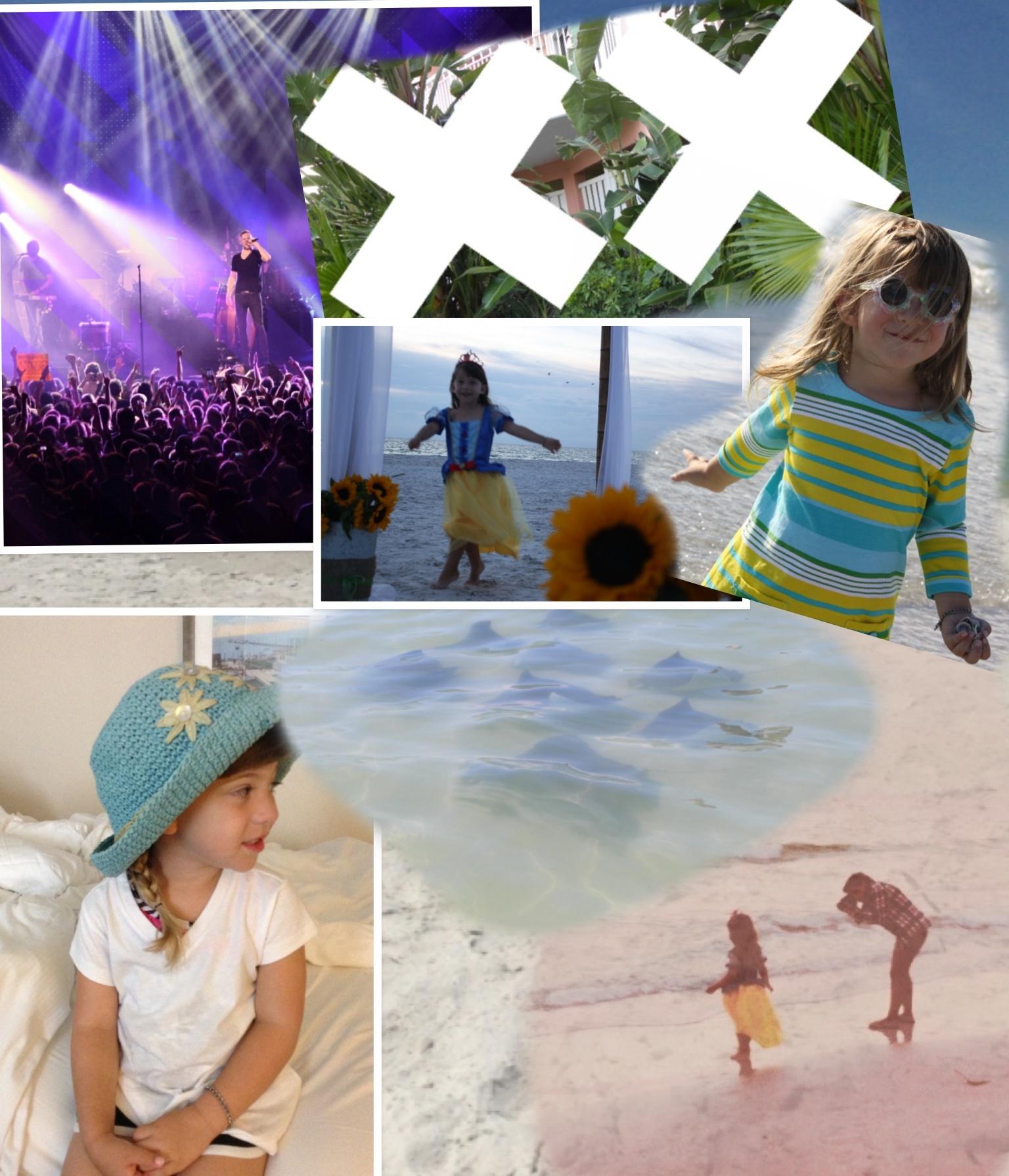 Beach then a concert!