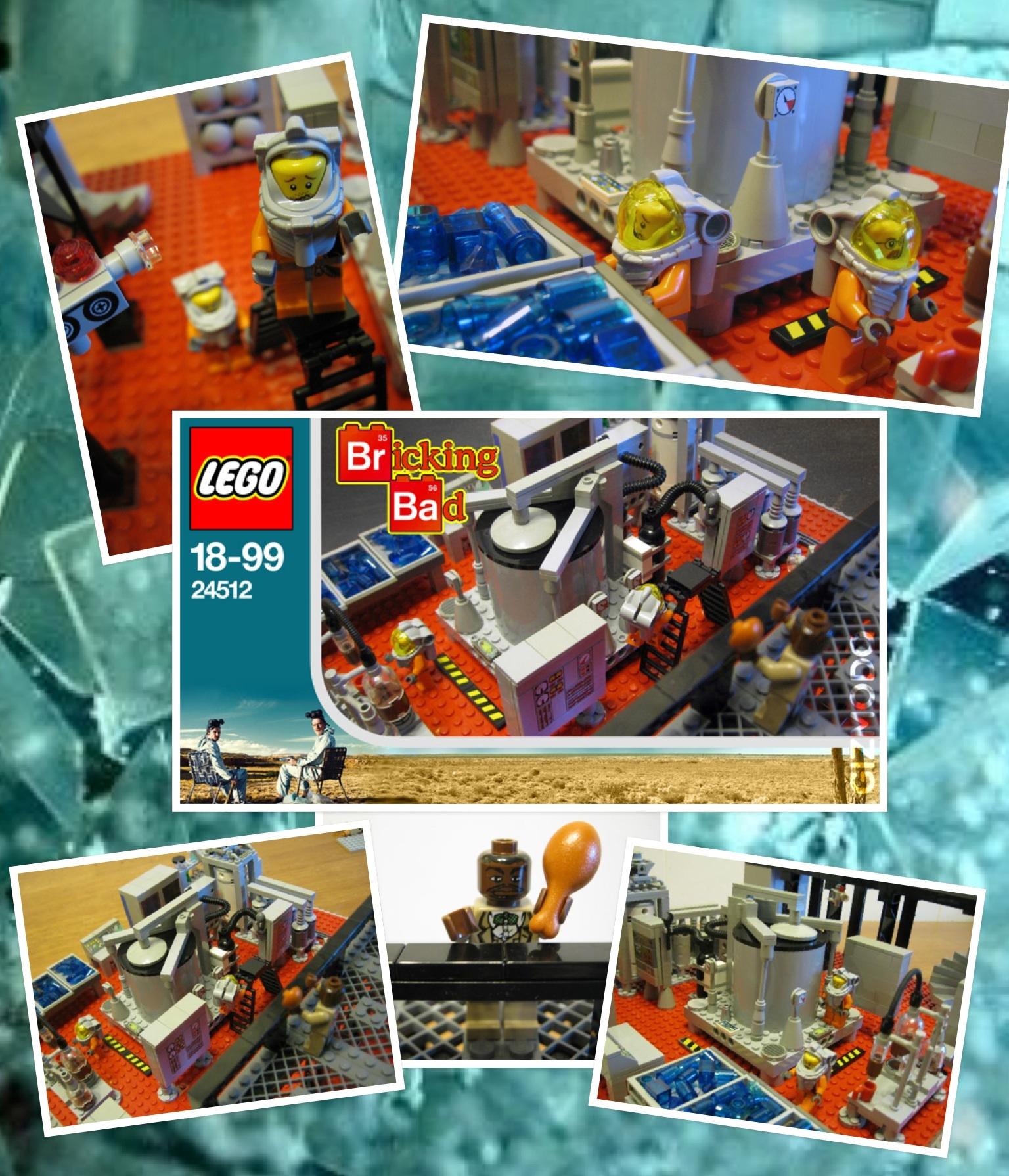 LEGO BREAKING BAD - METH LAB SUPER LAB