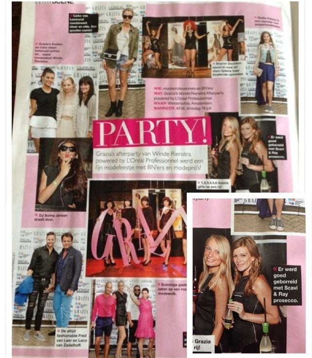 Kijk onze dames van Scavi & Ray eens shinen in de #Grazia ! #FashionWeek #FWA #Scavi&Ray #trots #smilepromotions