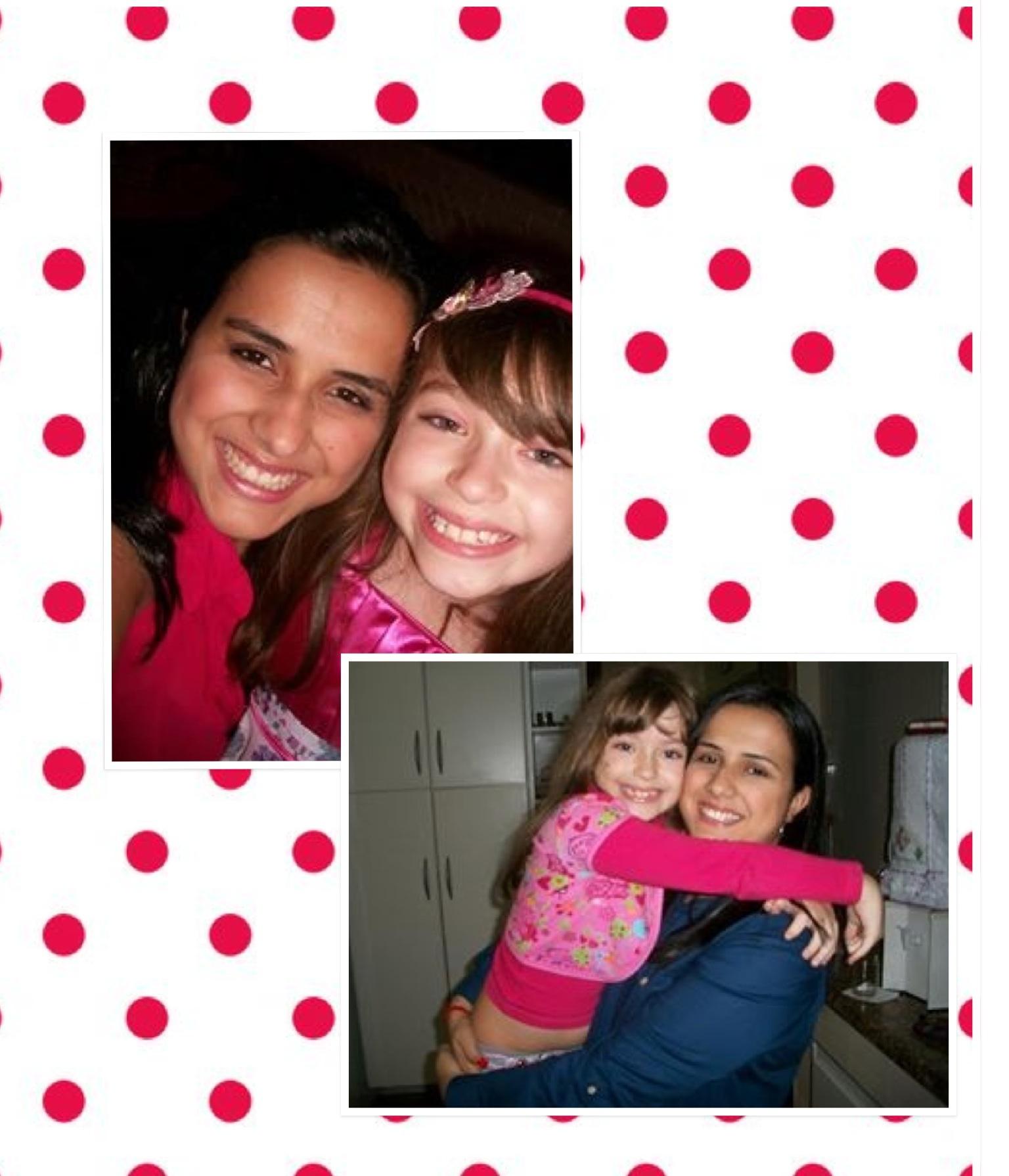 Hoje a minha princesa completa mais um ano de alegria! Amo você linda da Tia!!!!! #nara #9anos
