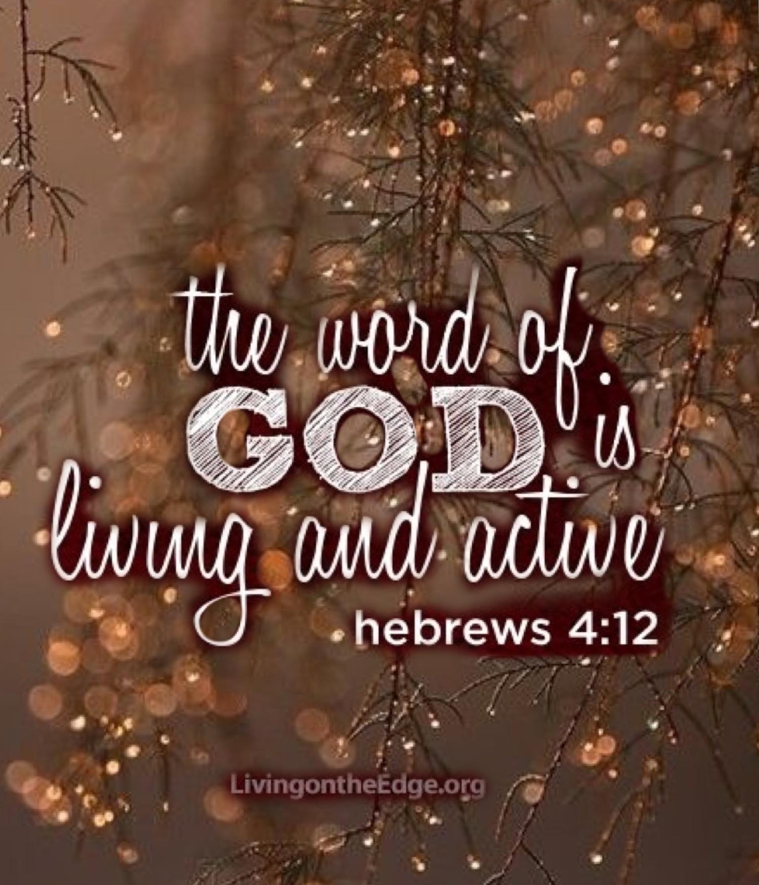 Hebrews 4:12 made with Bazaart
