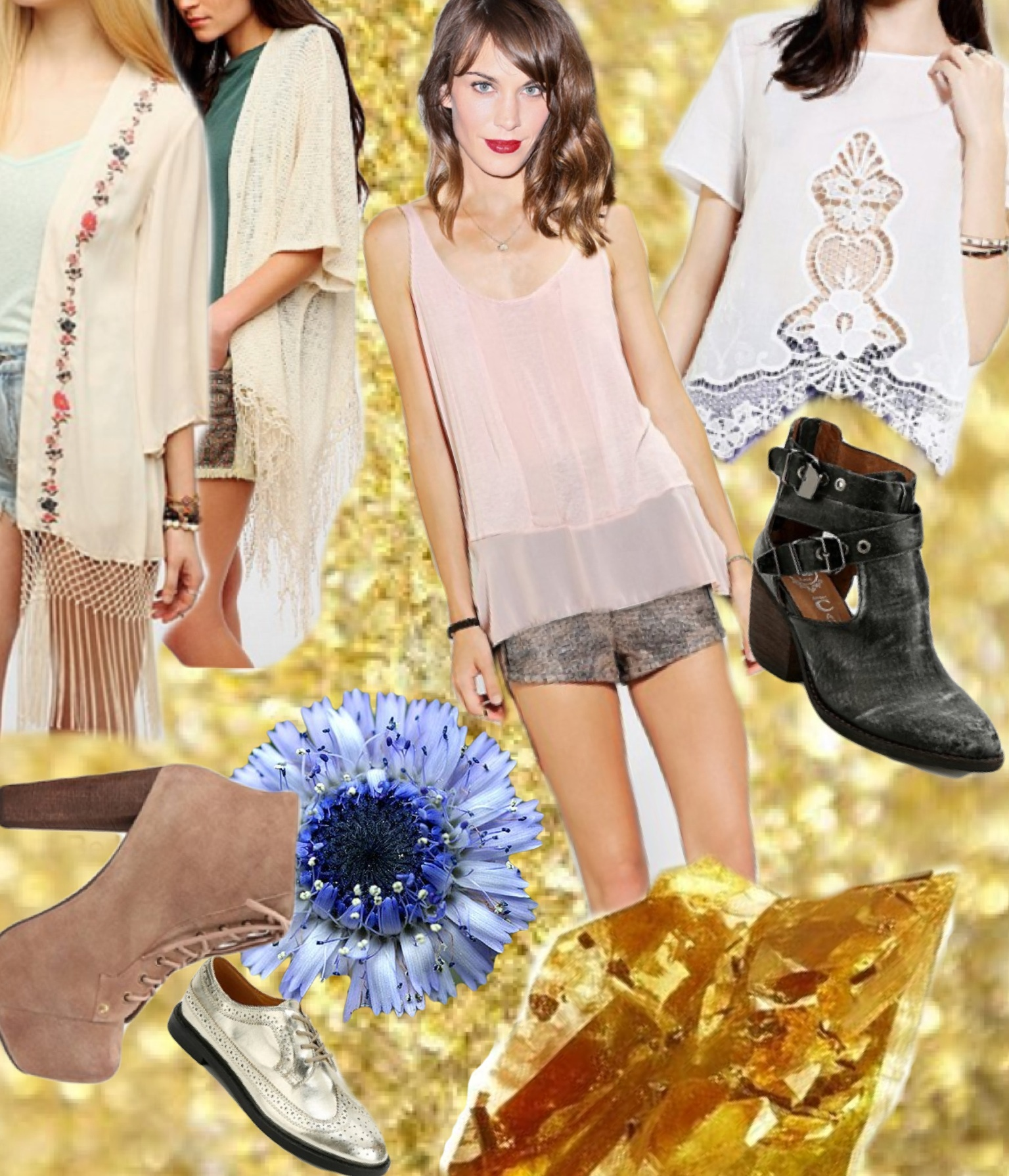 Urban outfitters 1920s inspired grunge
