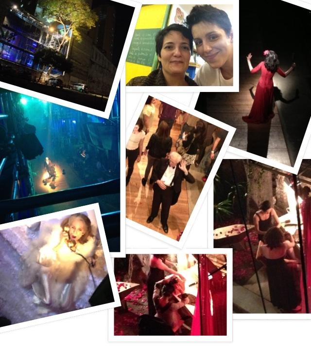 Espetaculo brilhante e excentrico no Teatro Oficina: Cacilda ... Com Renata D'Angelo