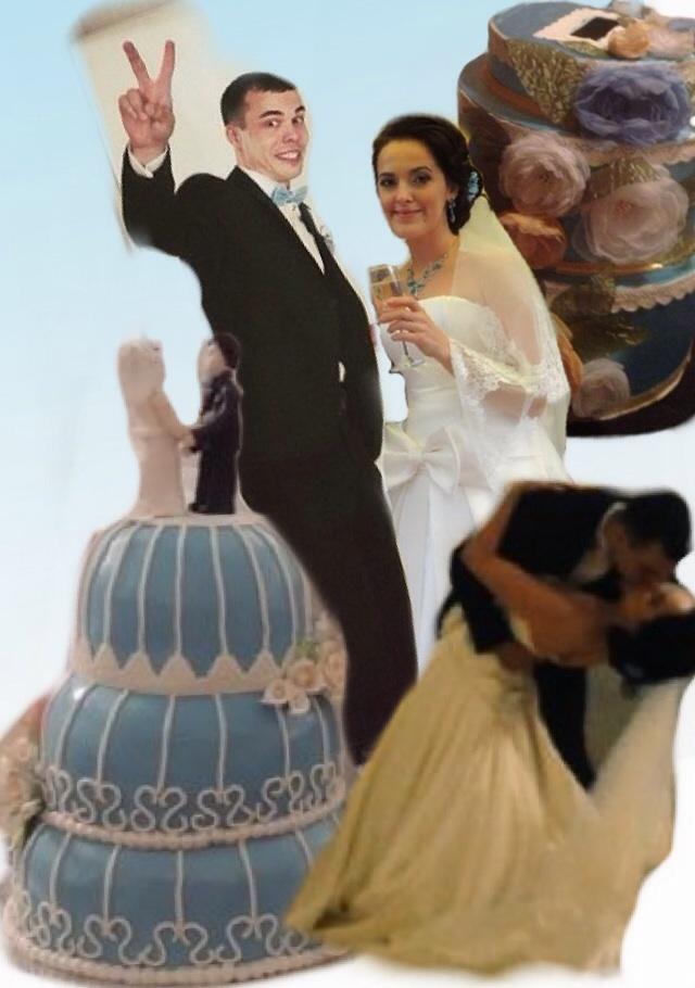 Свадебный коллаж))