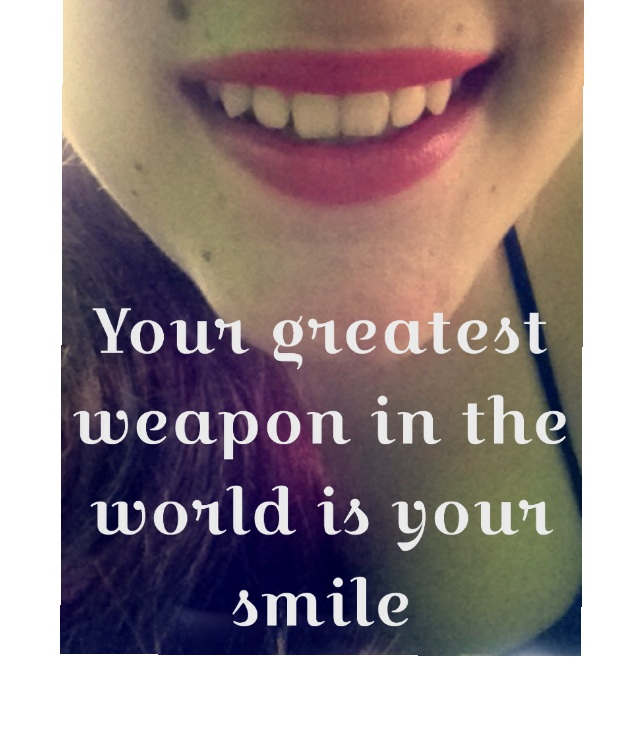 Haters Gonna Hate Smile Greatest Lips Quote Weapon Love