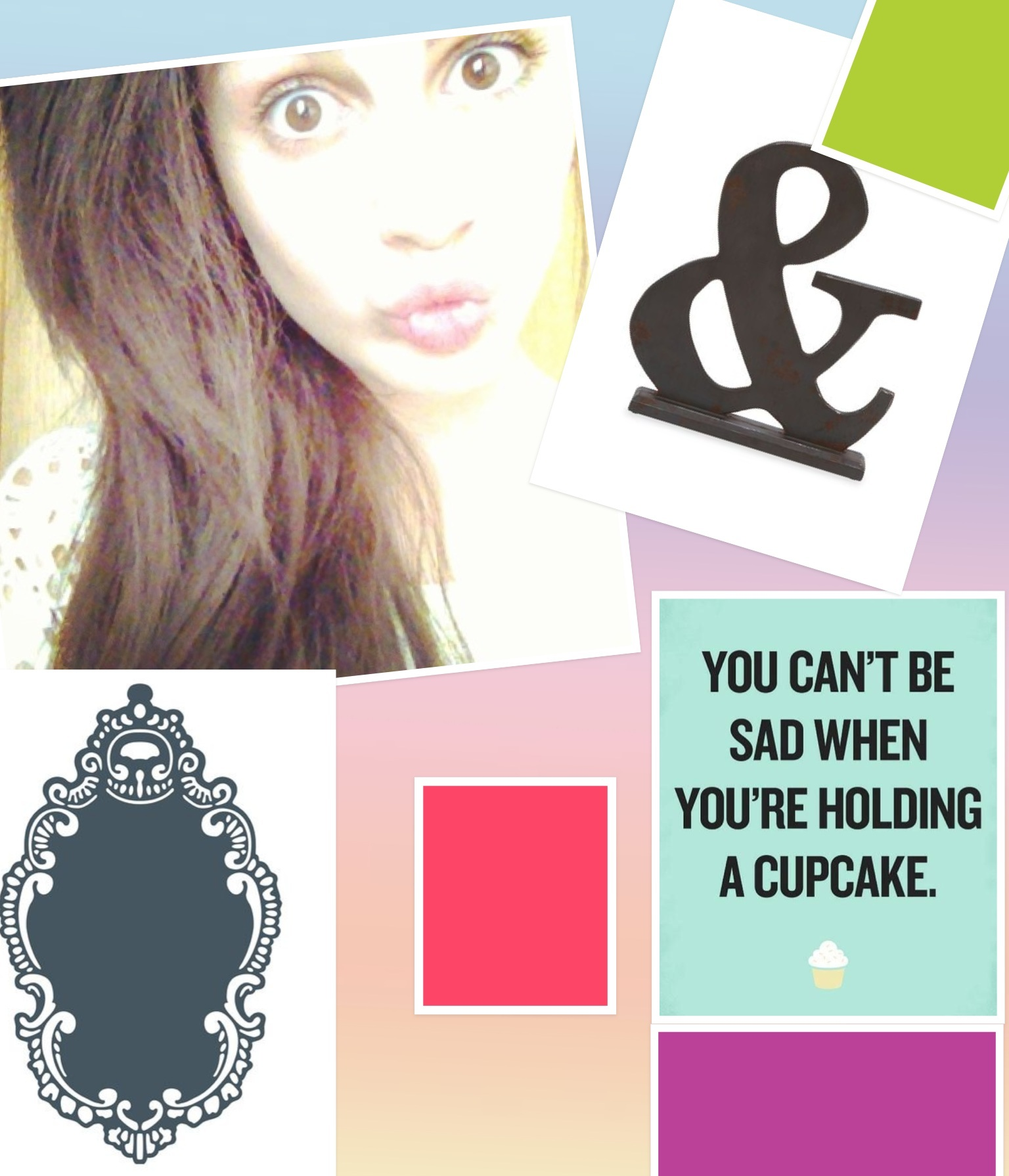 <3 you can't be sad when you're holding a cupcake