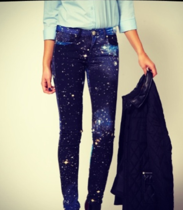 Galexy jeans = in love