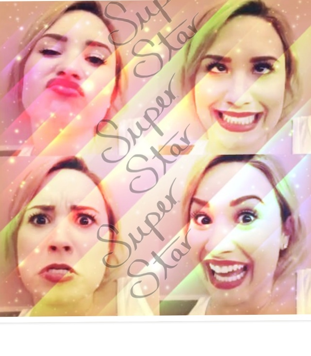 Demi...super star...whaaaat? Hahaha