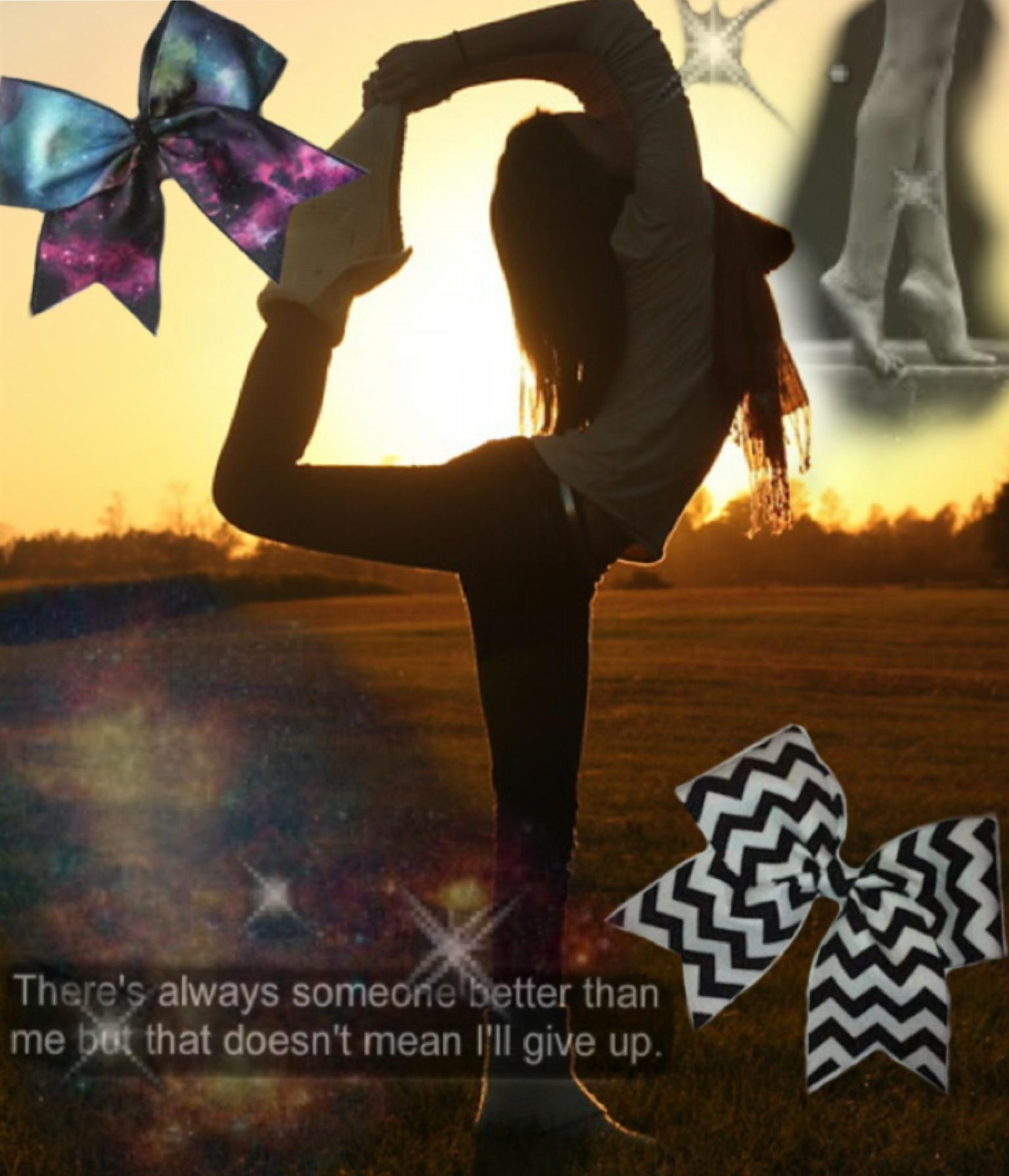 Gymnastics/cheer and dance