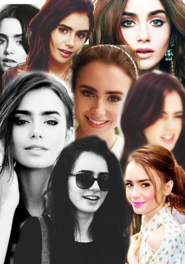Lily collage