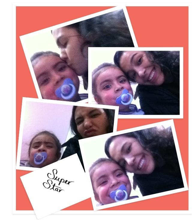 Eu e a lindinha da Julinha!