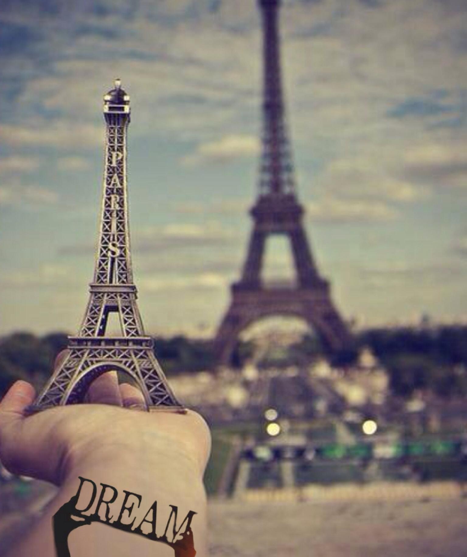 Фото красиво эйфелева башня девушки