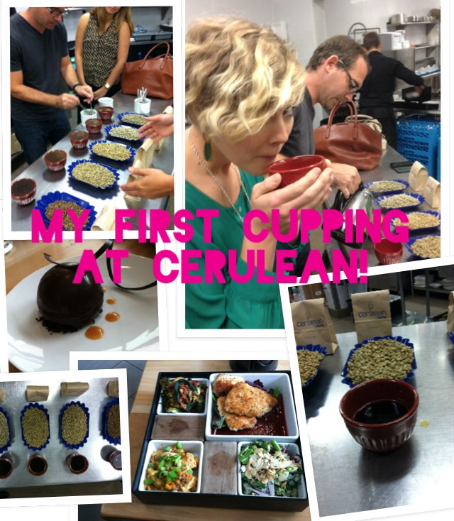My first cupping at Cerulean!