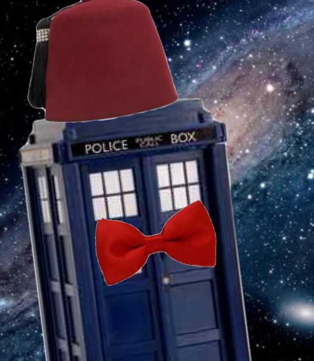 plot twist: the tardis is the doctor