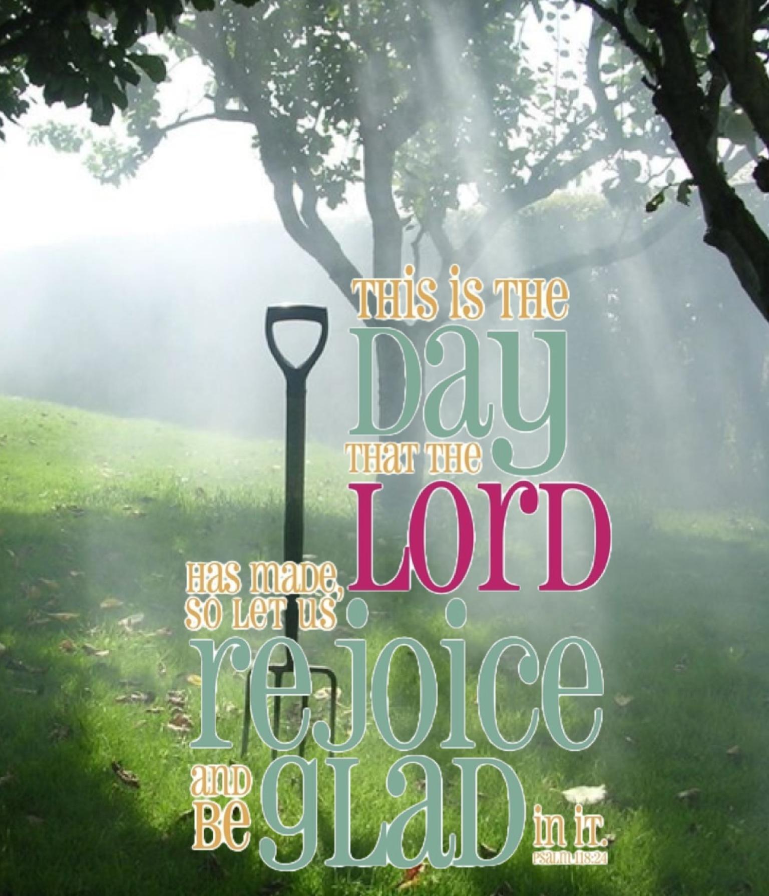 Ps. 118:24